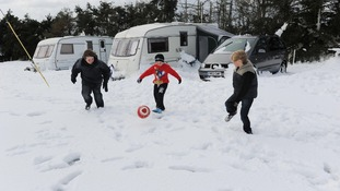 Campers stranded on North Yorks Moors
