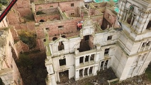 Plans to rebuild Overstone Hall have caused controversy because a housing estate of 50 homes may also be built.