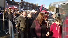 Last year's Christmas Fayre in Bury
