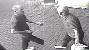CCTV images of a man police in Suffolk want to trace in connection with a theft.