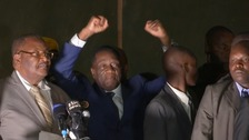 Robert Mugabe's successor heralds 'new and unfolding democracy'