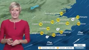 Helen has Thursday's forecast for east of region
