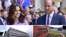 Duke and Duchess of Cambridge visit the West Midlands
