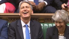 Philip Hammond delivers banter with the Budget