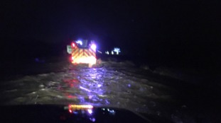 Fire engine called out to rescue people