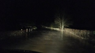 Downpours cause problems in Craven