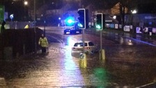 Dozens rescued as flooding hits north west England and north Wales