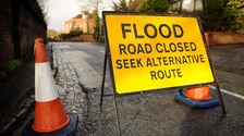 Updated list of road closures due to flooding in Cumbria