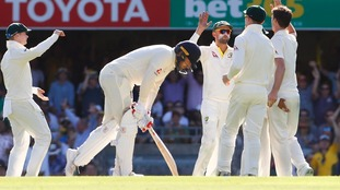Vince helps England to solid start before Lyon strikes in Ashes opening day