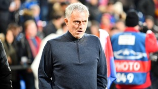 Jose Mourinho refused to blame his Manchester United players for their defeat in Switzerland