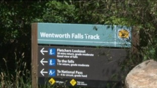 Wentworth Falls is a popular tourist destination in the Blue Mountains