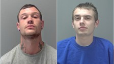 Pair jailed for violent attack on father and son