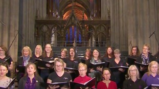 Military Wives Choir is a 'substitute family'