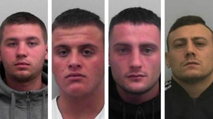 Organised crime gang jailed for ATM gas attacks
