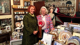 Fiona Foster meets Margaret Tyler who could be the world's biggest royal super fan!