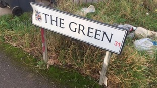 The incident happened in The Green in Northfield.
