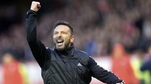 Aberdeen boss Derek McInnes says he is going nowhere says the clubs chairman Stewart Milne
