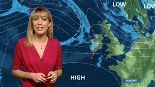 Holly looks ahead to the weekend in the east