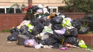 The strike led to a build up of waste on the city's streets earlier this year