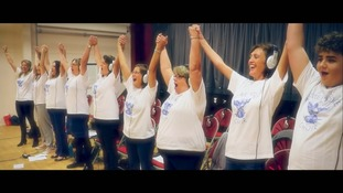 The Anstee Bridge Choir is linked to a charity helping young people gain confidence through music.