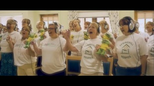 The UK Hospices choir brings together 45 hospices across the UK.