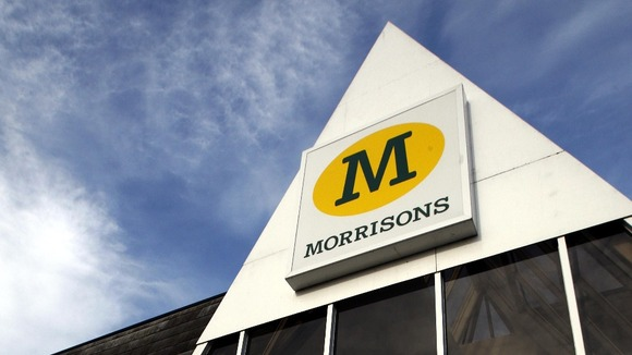 Morrisons like for like sales dropped by 2.5% over the festive period