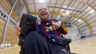 Eddie helped found the Gladiators Powerchair Football Club.