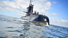 'Condolences' for crew of missing Argentine submarine