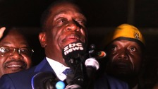 Mnangagwa to be sworn in as Mugabe's successor