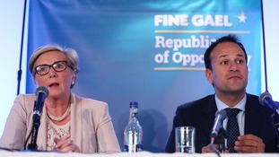 Tanaiste Frances Fitzgerald and Taoiseach Leo Varadkar