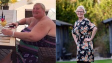 Grandmother 'too big' for Drayton Manor loses 13 stone