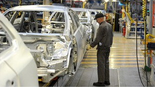 Vauxhall Astra production line at the Vauxhall Motors factory in Ellesmere Port - Astras were the fourth most popular car sold last year
