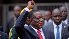 Zimbabwe's president Emmerson Mnangagwa to be sworn in