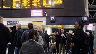 Wedding on track after commuter proposes using Waterloo information screen
