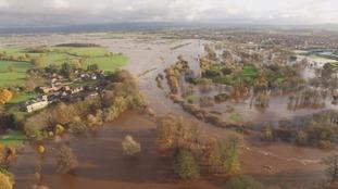 Aerial shots of Carlisle