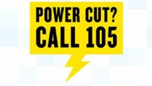 power cut 105