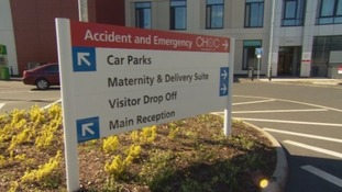 A&E department at West Cumberland Hospital