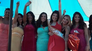 Inmates hold beauty pageant at Brazilian women's prison