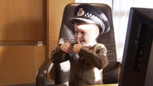 Jayden Cop for a Day