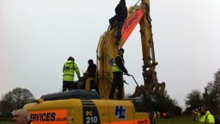 Hastings-Bexhill link road protesters