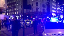 Police respond to shots fired at Oxford Circus in London