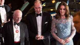 William and Kate attend Royal Variety Performance despite delay over Oxford Circus incident