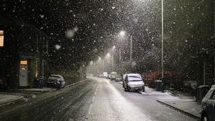 Snow in Shawforth