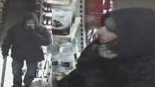 Durham Police are looking to speak to this man in connection with the failed robbery