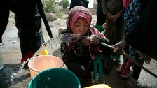 Yemen: Millions at risk of losing clean running water