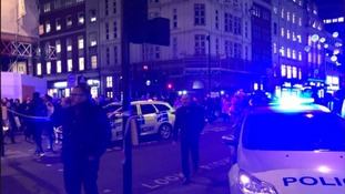 Two men hand themselves in over Oxford Circus tube evacuation chaos