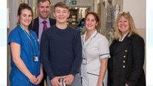 Billy Monger was seriously injured in a racing accident earlier this year.