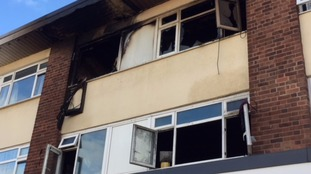 A woman and 3 children rescued from a flat fire in Bartley Green
