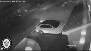 Police release footage of 'relay crime'