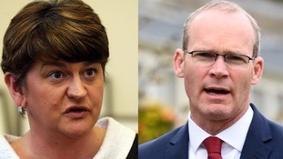 Foster critical of Coveney 'aggression' on border